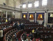 Debido a la falta de acuerdos, en el Congreso ya no se conocerá el presupuesto para el 2020. (Foto Prensa Libre: Hemeroteca PL)