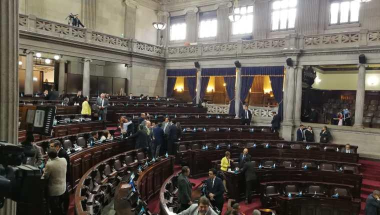 Diputados celebran la no aprobación del presupuesto 2020