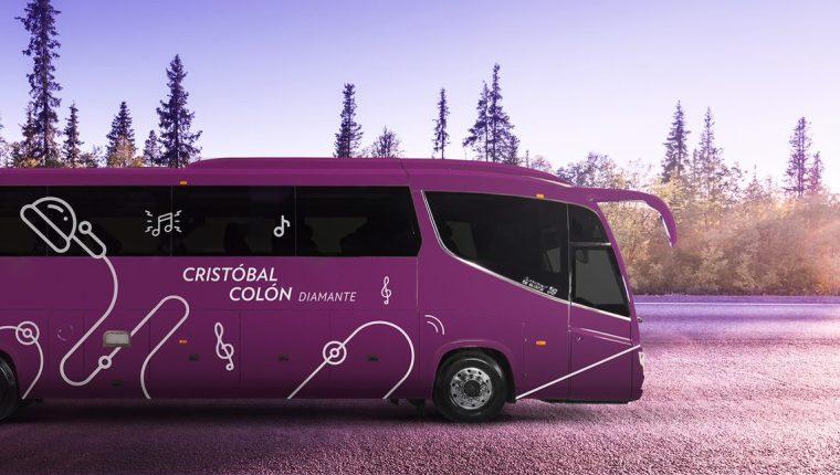 La línea de autobuses Cristóbal Colón amplía sus rutas y lanza servicio de lujo. (Foto, Prensa Libre: Cortesía).