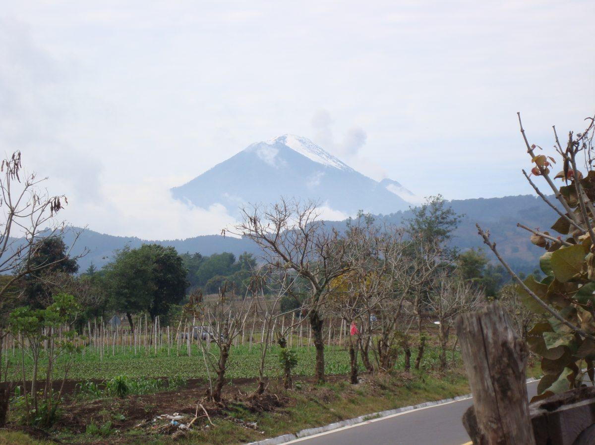 Sabe qué hacer si se extravía en un volcán, donde el clima es impredecible y puede costarle la vida