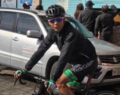 El ciclista había corrido este año en la Vuelta de la Juventud  de Colombia. Foto Prensa Libre: @Fedeeciclismocol