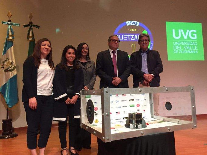 Quetzal-1: Universidad del Valle de Guatemala entrega el primer satélite guatemalteco a Japón