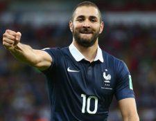 Karim Benzema no ha participado con la Selección francesa desde diciembre del 2015. (Foto Prensa Libre: Internet).