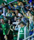 El Chapecoense estuvo seis años en la primera división brasileña. (Foto Prensa Libre: @ChapecoenseReal/Twitter)