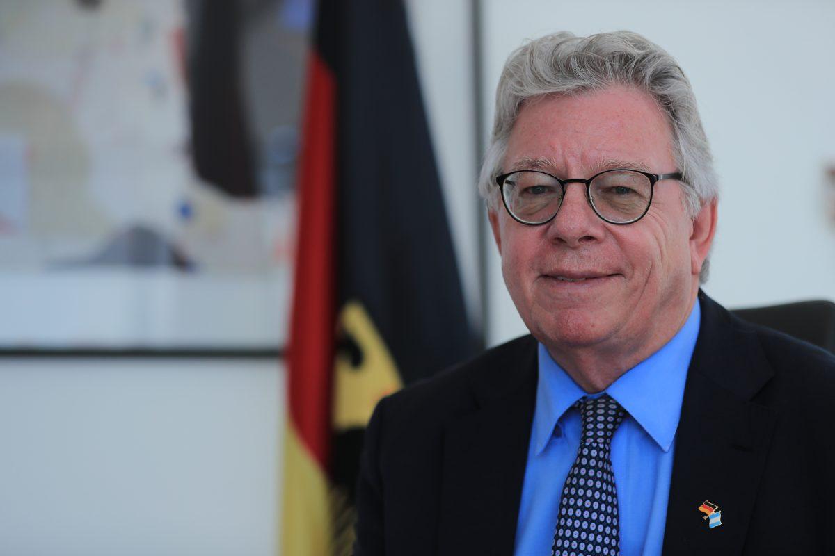 """Embajador de Alemania: """"Con muros no se soluciona ningún problema"""""""