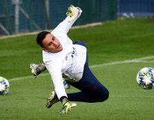 El guardameta del PSG es una baja importante para su selección. (Foto Prensa Libre: Hemeroteca PL)