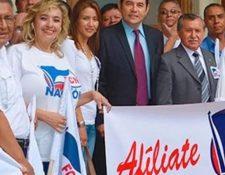 El TSE lleva a cabo un proceso de cancelación por aportes no reportados por FCN-Nación durante la campaña electoral del 2015. (Foto Prensa Libre: Hemeroteca PL)