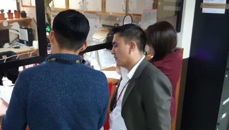 Personal de la Feci presenta solicitudes de antejuicio contra dos jueces y un diputado. (Foto Prensa Libre: MP).