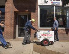 Fidencio Sánchez a diario recorría las calles de Chicago en los veranos de los últimos 23 años. (Foto Prensa Libre: AP).