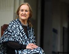 La artista Rina Lazo falleció a sus 96 años de edad. (Foto Prensa Libre: Hemeroteca PL)