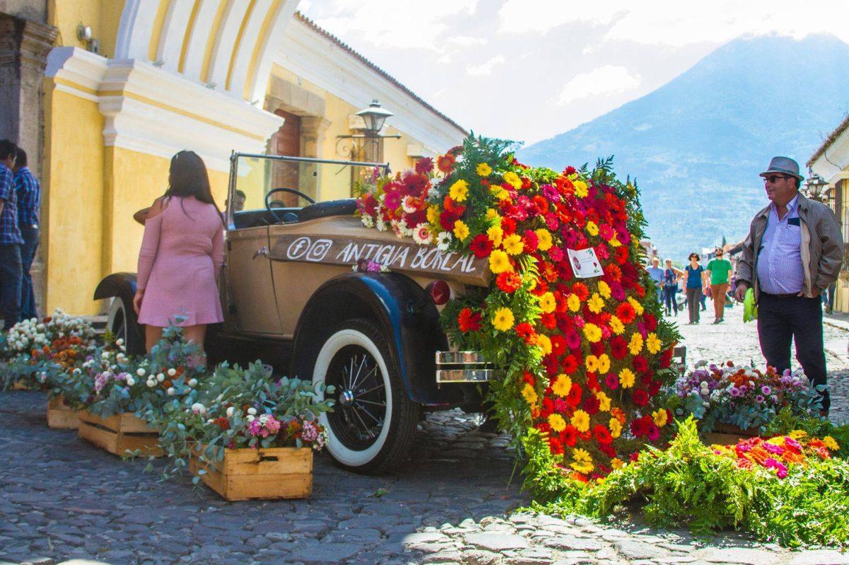 Antigua Guatemala se vestirá de colores durante el tercer Festival de Las Flores