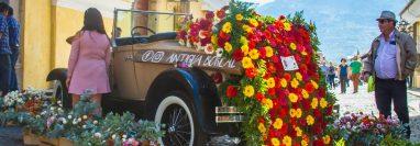 Las calles de la ciudad de Antigua Guatemala serán el escenario del tercer Festival de las Flores. (Foto Prensa Libre: Tomada de Facebook)