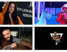 Rosalía, Bad Bunny y Maluma son algunos de los nominados al Grammy 2020. (Foto Prensa Libre: Hemeroteca PL)