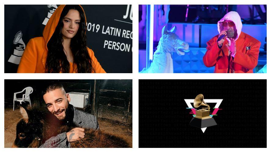 Premios Grammy: el reguetón toma impulso (Rosalía, Bad Bunny y Maluma, entre los nominados)