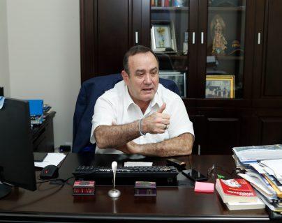 Alejandro Eduardo Giammattei Falla, presidente electo de Guatemala. (Foto Prensa Libre: Esbin García)