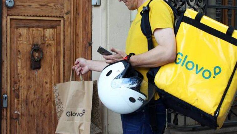 La aplicación Glovo se está expandiendo en el país, además de la capital, ya está abarcando Villa Nueva y Mixco. (Foto Prensa Libre: Cortesía)