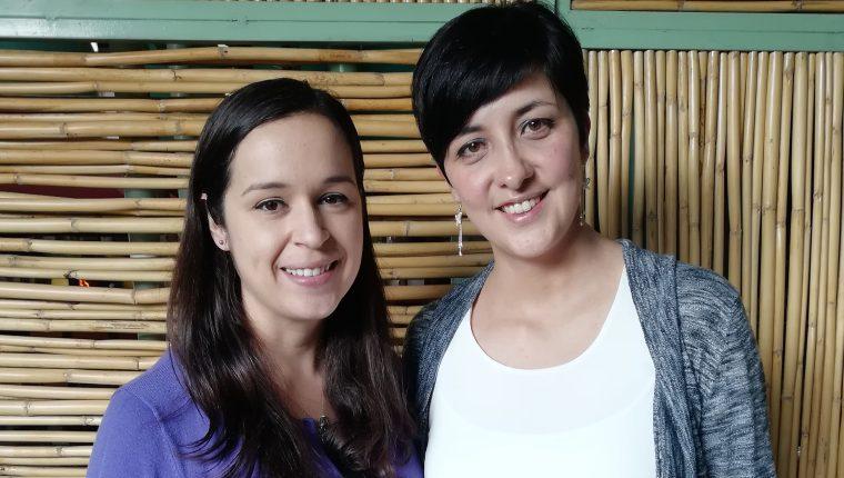 Amanda Blackwell y Diana Bonilla creen en el valor de las personas con autismo y esperan promover un cambio en el país para que se rompan estereotipos. (Foto Prensa Libre: Néstor Galicia)
