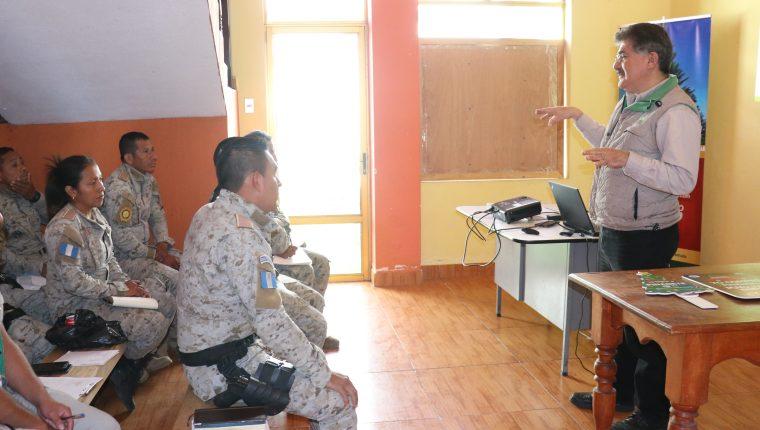 Los agentes comenzarán con los operativos para reducir la venta ilegal del pinabete, que es patrimonio de los guatemaltecos. (Foto Prensa Libre: Raúl Juárez)
