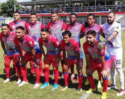 El deportivo Iztapa logro los tres puntos en su casa contra Malacateco. (Foto Prensa Libre: La Red)