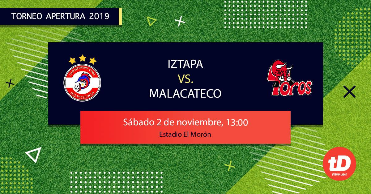EN DIRECTO   Iztapa vs Malacateco