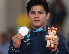 El gimnasta Jorge Vega. (Foto Prensa Libre: Hemeroteca).