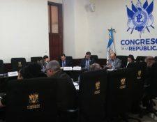 Una mesa técnica revisa las enmiendas que se harán a la propuesta de ley que busca reformar el Código Penal y el Código Procesal Penal.(Foto Prensa Libre: Andrea Orozco)