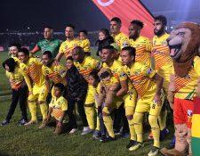 El deportivo Marquense logró su boleto a las semifinales de la Primera División. (Foto Prensa Libre: Deportivo Marquense)