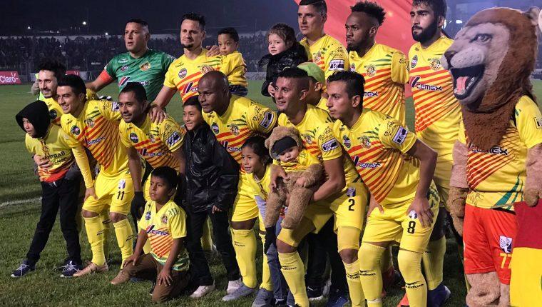 El deportivo Marquense buscará nuevamente el ascenso. (Foto Prensa Libre: Deportivo Marquense)