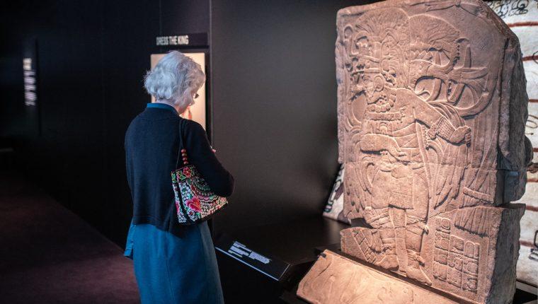 Una de las piezas más reconocidas es la de la diosa Wac-Chanil-Ahau. (Foto Prensa Libre: royalbcmuseum.bc.ca)