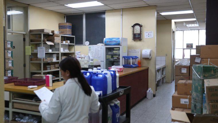 El requerimiento del hospital es para la compra de medicamentos. (Foto Prensa libre: María Longo)