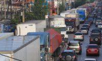Los transportistas lograron un acuerdo para circular. (Foto Prensa Libre: Hemeroteca PL)