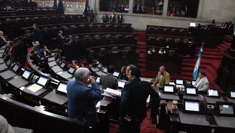 Dudas rodean aprobación del presupuesto 2020. (Foto Prensa Libre: Hemeroteca PL) Congreso