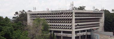 Vista aérea de uno de los edificios de la Usac. (Foto: Hemeroteca PL)
