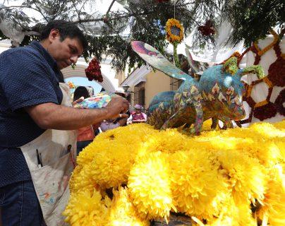Exposición de Flores en la Antigua Guatemala donde llegan turistas de distintos lugares para disfrutar la vista de flores de toda tipo. La exposición se realizó el 16 y 17 de Noviembre en la calle de Arco en Antigua Guatemala. (Foto Prensa Libre: Erick Ávila)