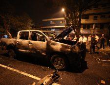 Balacera entre polic'as deja cinco heridos y disturbios en El Amparo, zona 7  foto por Carlos Hern‡ndez Ovalle 22/11/2019