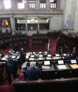 En varias sesiones plenarias se intentó  aprobar el presupuesto 2020, pero se suspendían por falta de diputados que no se presentaron. (Foto Prensa Libre: Érick Ávila)