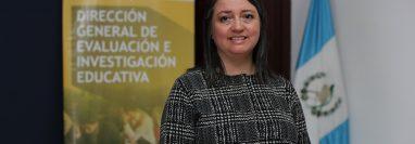 Luisa Fernanda Müller, directora de la Digeduca, indica que las evaluaciones a los graduandos genera información acerca de lo que aprenden. (Foto Prensa Libre: Érick Ávila)