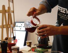 Al menos 60 fincas de café, asociadas al Comité de Cafés Diferenciados de Agexport, podrán usar la plataforma comercial de negocios CoffeeVerse. (Foto, Prensa Libre: Fernando Cabrera).