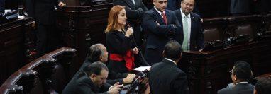 De manera extraoficial se conoce que la diputada Alejandra Carrillo busca ser la primera directora del instituto de la atención a las víctimas del delito. (Foto Prensa Libre: Hemeroteca PL)