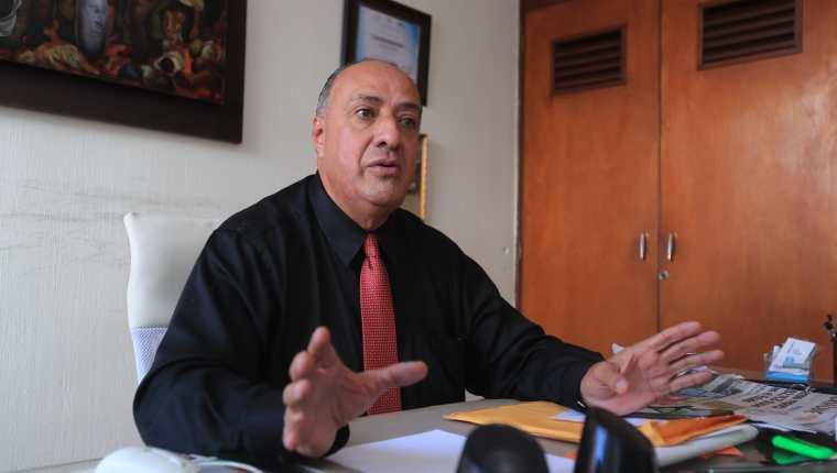Jorge Eduardo Flores Contreras conversa con Prensa Libre sobre el control que se necesita para mejorar el sistema carcelario. (Foto Prensa Libre: Juan Diego González)