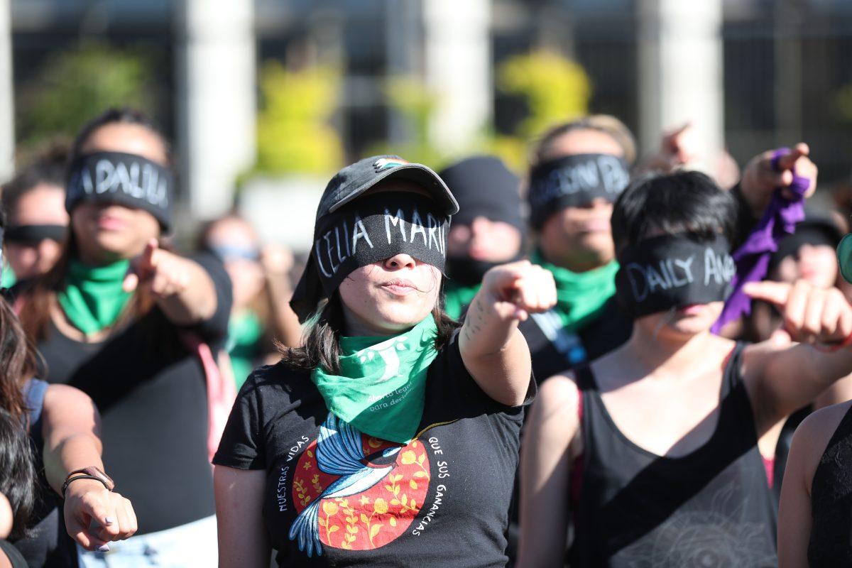 Fotogalería: movimiento feminista internacional llega a Guatemala