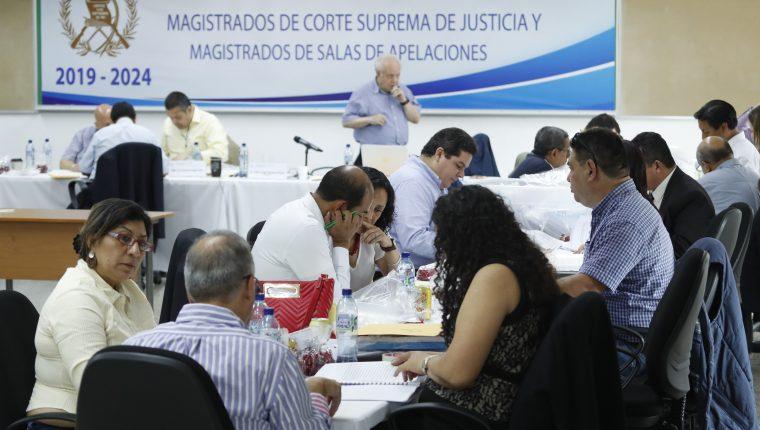 Comisi—n de Postulaci—n para elecci—n de magistrados de la Corte Suprema de Justicia y Salas de apelaciones.        Fotograf'a Esbin Garc'a  31-08-2019