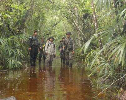 Génesis, el grupo élite de guardarrecursos que protege 184 mil hectáreas de la Biósfera Maya