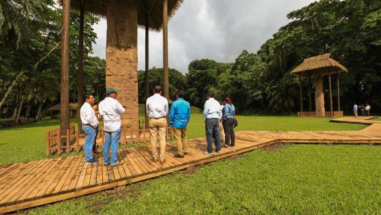 El sitio arqueológico Quiriguá fue declarado Patrimonio Cultural Mundial de la Humanidad por la Unesco el 31 de octubre de 1981. (Foto, Prensa Libre: Inguat).