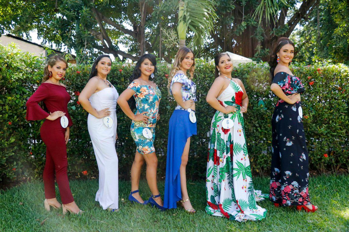 Ellas son las candidatas a Reina de la Feria de Retalhuleu 2019
