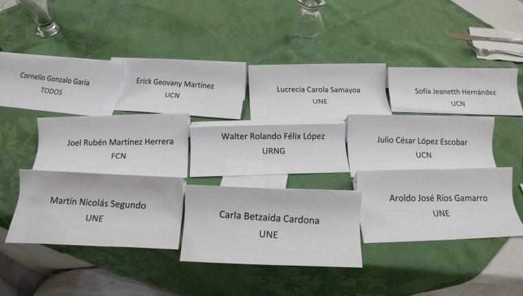 Los nuevos diputados y los diputados reelectos por Huehuetenango no asistieron a una reunión con la Mesa de Cambio Climático. (Foto Prensa Libre: Mike Castillo)