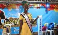Trixy Marina Franzua Suazo, representante de Honduras es la ganadora del certamen de belleza. (Foto Prensa Libre: Dony Stewart)