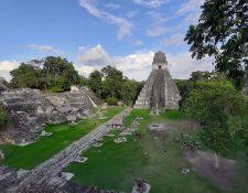 A partir del 31 de diciembre próximo entra en vigencia la prohibición del uso de plástico de un solo uso y duroport en el Parque Nacional Tikal. (Foto Prensa Libre: Dony Stewart)