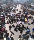 Los 48 cantones de Totonicapán hicieron llamado a participar en bloqueos el 29 de julio.  (Foto Prensa Libre: Hemeroteca PL)