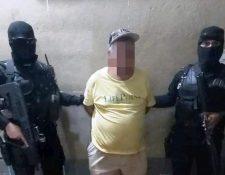 Prudencio Rodríguez Maldonado, de 66 años, conserje de la Municipalidad de Ayutla, fue capturado. (Foto Prensa Libre: PNC)